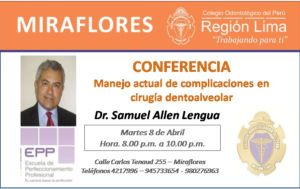 Conferencia Cirugía Edentoalvear